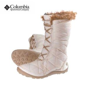 Columbia Women's Powder Summit Lace-Up Snow Boot